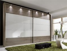 Stylform EOS - Sliding Door Wardrobe Wood/Mirror - Head2Bed UK
