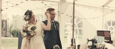 Bride and Groom from a summer hand crafted wedding   http://www.lovemydress.net/blog/2016/02/belle-bunty-dress-paper-craines-guardian-soulmates-wedding.html   Film by http://www.dandolanfilms.co.uk/