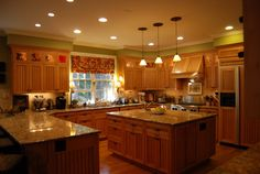Imparting Grace: The heart of the home: the kitchen   Ruskin room green - sherwin Williams