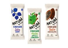 Natura by Anne is a line of wholesome, all natural snacks from Istanbul.