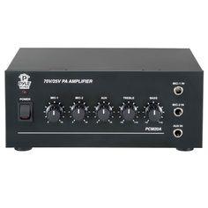 Pyle 40 Watt Power Amplifier w/ 25 & 70 Volt Output