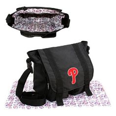 Philadelphia Phillies MLB Sitter Baby Diaper Bag