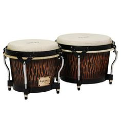 "Tycoon Percussion STBS B CO Siam Oak Bongo Drum - Chiseled Orange by Tycoon Percussion. $101.75. Tycoon Percussion's Supremo Series Bongos are perfect for the percussion enthusiast. Constructed of aged Siam Oak, these drums feature standard 7"" & 8.5"" water buffalo skin heads and traditional hoops. They are light weight, easy to transport, and come in a hand carved chiseled orange finish. Bongo stands and bags are available as an additional option. Tycoon Percussion ..."