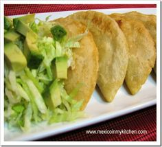 quesadillas de masa... delicious