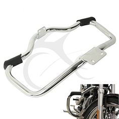 CHROME MUSTACHE ENGINE GUARD FOR HARLEY DAVIDSON SPORTSTER XL//XR 2004-2018