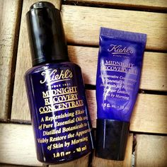 Kiehl's Midnight Recovery Concentrate and Eye Cream - Review
