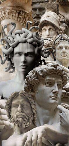 Roman Sculpture, Sculpture Art, Sculptures, Greek Goddess Art, Greek Art, Aesthetic Statue, Aesthetic Art, Aesthetic Pastel Wallpaper, Aesthetic Wallpapers