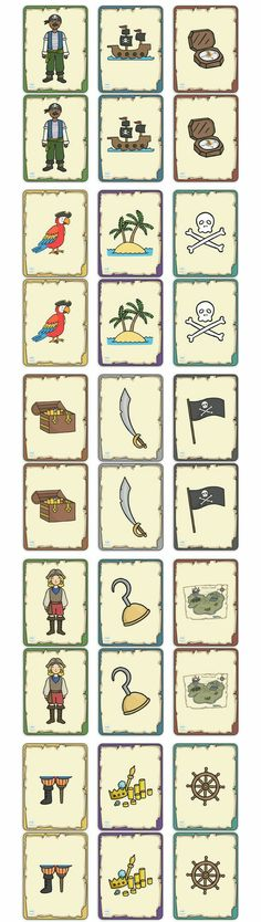 Twinkl Resources >> Pirate Themed Snap Cards >> Classroom printables for Cards, Pirates, Activities, Games Pirate Preschool, Pirate Activities, Pirate Games, Pirate Crafts, Activities For Kids, Kindergarten Activities, Pirate Day, Pirate Life, Pirate Birthday