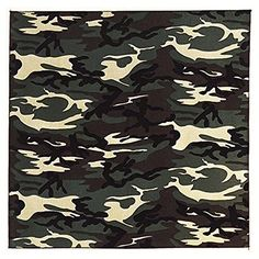 Liberty Mountain Woodland Camouflage Bandana -- Be sure to check out this awesome product.(This is an Amazon affiliate link and I receive a commission for the sales) #RunningMensClothing