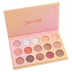 ColourPop Golden State of Mind Eyeshadow Palette Colourpop Eyeshadow, Eyeshadow Palette, Eyeshadows, Drugstore Eyeshadow, Eyeshadow Makeup, Smokey Eye Makeup, Skin Makeup, Makeup Brands, Best Makeup Products