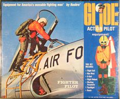 The Fighter Pilot introduced in went through several iterations and was on the market as Fantastic Freefall right through the Adventure Team era in the It's popularity was based. Gi Joe, Project Mercury, 1960s Toys, Happy 50th Birthday, Fighter Pilot, Childhood Toys, Toy Soldiers, Classic Toys, Old Toys