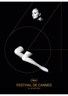 Festival de Cannes / photo by Jerry Schatzberg. artwork by H5 (M. Lelièvre, B. Parienté) via B for Bonnie.