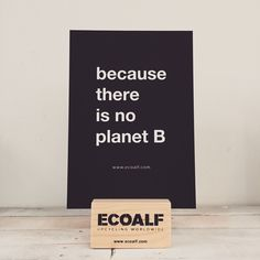 Because there is no planet B. Buy sustainable clothes made from recycled materials from Ecoalf.