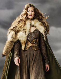 Alyssa Sutherland as Princess Auslaug on Vikings. .............................................................................................................................