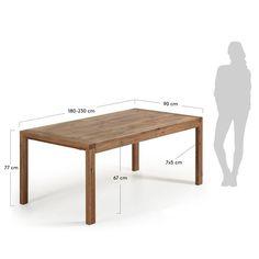 Gaston Extendable Dining Table Charlton Home Size: x x Extendable Dining Table, Dining Bench, Furniture Box, E Piano, Table Extensible, Homestead Living, 230, Hazelwood Home, Dcor Design