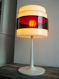 Vintage IKEA design lamp Energi Rock jaren 60