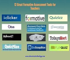 12 great formative assessment tools for teachers ~ educational technology and mobile learning – social media video network trends Formative Assessment Tools, Assessment For Learning, Summative Assessment, Formal Assessment, Teacher Education, Education Quotes For Teachers, Teacher Tools, Teacher Resources, Social Networks