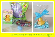 cute idea for easter basket