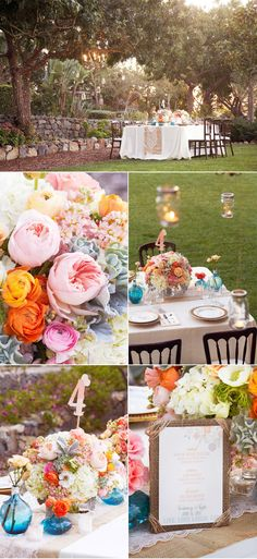 Vintage Spring Wedding Inspiration needs more purple
