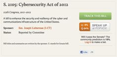 Sen. Wyden Comes Out Against Cybersecurity Act of 2012