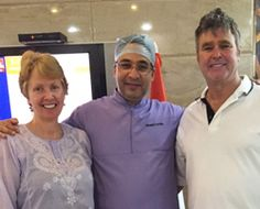 Dr Kathuria came highly recommended from Australia. Got a lot of #dental work done. Many thanks to Dr Sween and Dr Puneet Kathuria for an excellent and well paced dental work.