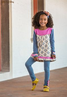 Make Believe, Fall 2017: By Design Leggings, Special Talent Tunic, and Just The Thing Headband