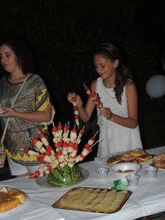 Artículo arreglo floral para fiestas ibicenca