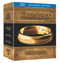 New Lord of the Rings Trilogy Blu-Ray Special Extended Edition Box Set: 15 Discs