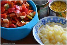 Katerina&Kuchnia: SOS SŁODKO-KWAŚNY DO SŁOIKÓW Curry, Mexican, Ethnic Recipes, Pineapple, Curries