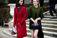 Paris Haute Couture Spring 2015 Street Style - Paris Haute Couture Spring 2015 Street Style Day 1-Wmag