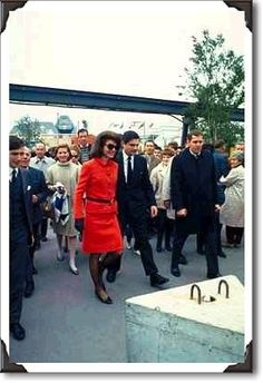 Jackie Kennedy, expo 67, montreal , world fair