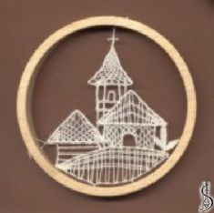 Dark / light frame without glass, diameter 9 cm. Protected by copyright! Lace Heart, Lace Jewelry, Bobbin Lace, Light In The Dark, Lace Detail, Glass Art, Decorative Plates, Butterfly, Ornaments