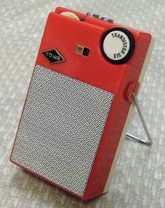 Vintage Kowa 6-Transistor Radio, Made in Japan (Model Number Unknown).