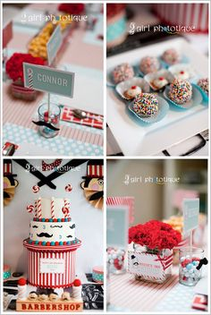 Half Baked – The Cake Blog » Barbershop Birthday Party