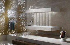 a horizontal shower