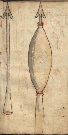 Feuerwerkbuch etc. 1462-63 Hs 719  Folio 14r