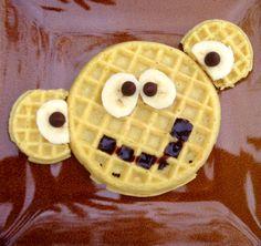 Monkey Waffles
