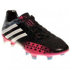 super popular 02734 a88a8 adidas Womens LZ TRX FG Soccer Cleats (5, BlackRunning WhiteBlast Pink)