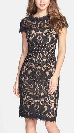 Gorgeous lace dress by Tadashi Shoji http://rstyle.me/n/r98ysn2bn