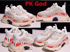 7912d9877 Cheapest place to buy Balenciaga Triple S Trainer sneakers White yellow  pink original PK God legit check review factory store outlet for sale 2018