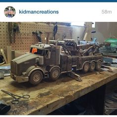 Check out @kidmancreations. Awesome work sir!