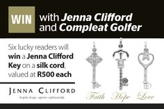 Win 1 of 6 Jenna Clifford Keys on a silk cord worth each Jenna Clifford, 28 February, Faith In Love, Keys, Cord, Competition, Jewellery, Silk, Accessories