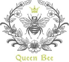 This is an embroidered towel that will be beautiful in the kitchen or as a hand towel in the bathroom! Great gift for the bee inspired collector! Choice of Towel: - 100% Cotton Huck Towel, pinstitched