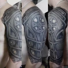 Shoulder Armor Tattoo, Cover Up Tattoos, Tribal Tattoos, Tattoo Ideas, Tatoo, Tatuajes, Art, Tattoos Cover Up, Covering Tattoos