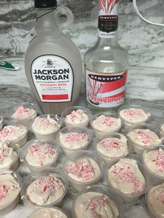 The White Chocolate version of the classic coffee drink Ingredients: 1 package of sugar free white chocolate pudding c peppermint mocha whiskey cream c peppermint liquor c skim milk 1 t… Pudding Shot Recipes, Jello Pudding Shots, Jello Shot Recipes, Jello Shots, Shooter Recipes, Party Recipes, Mixed Drinks Alcohol, Alcohol Drink Recipes, Fun Drinks