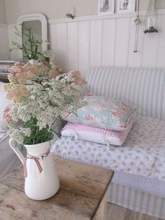I want to do this to my sofa cushions.  Now, to find the right material!