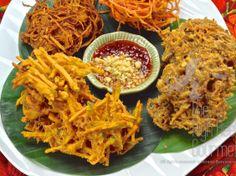 Northern Thai Style Vegetable Tempura, Gra BongTod