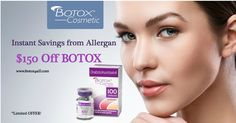 The Winter is coming... TREAT yourself with BOTOX with WHOLESALE PRICE! Order today at: www.botox4all.com
