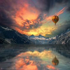 Photograph Above The Ice by Peter From on 500px