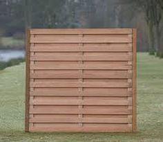 Risultati immagini per contemporary horizontal fence panels